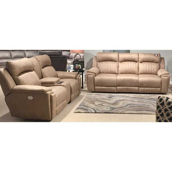 Silver Screen 2 Piece Leather Living Room Set by Southern Motion