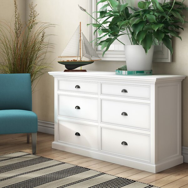 Amityville 6 Drawer Double Dresser by Beachcrest Home