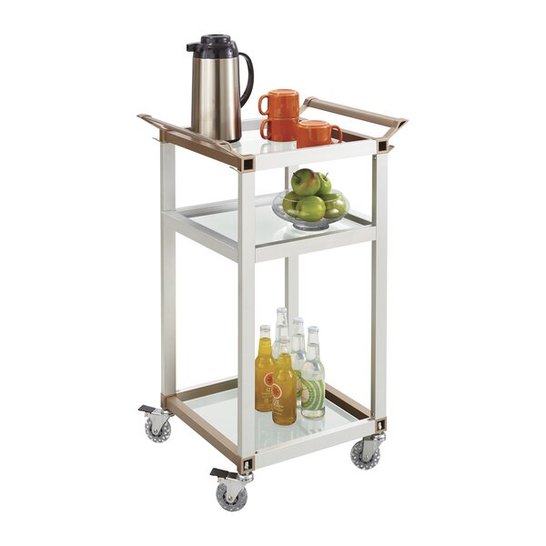 Bar Cart By Safco Products Company Bargain
