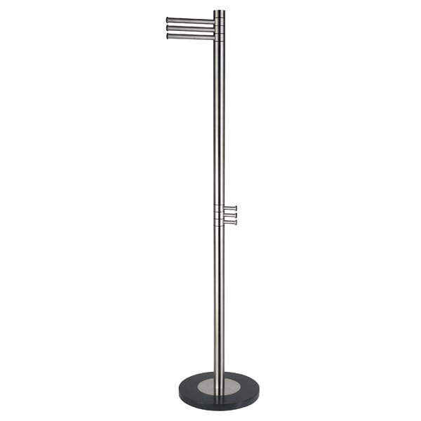 Sirjon Contemporary Stainless Steel Coat Rack by Orren Ellis