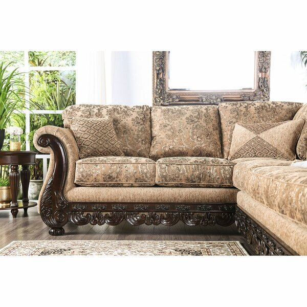 Savage Reversible Sectional by Astoria Grand