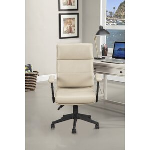 balbo genuine leather office chair with adjustable arm