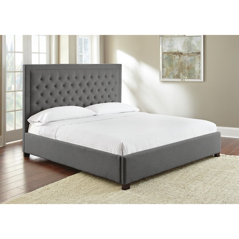 silo dusty upholstered king platform in bed furniture parliament brown standard