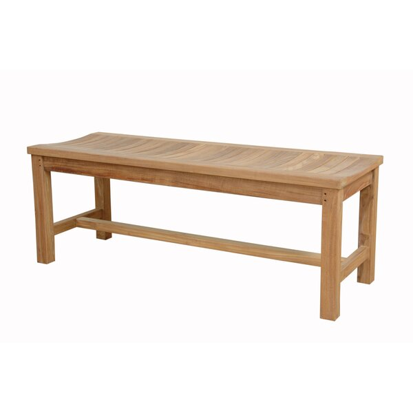 Madison Adirondack Teak Picnic Bench by Anderson Teak