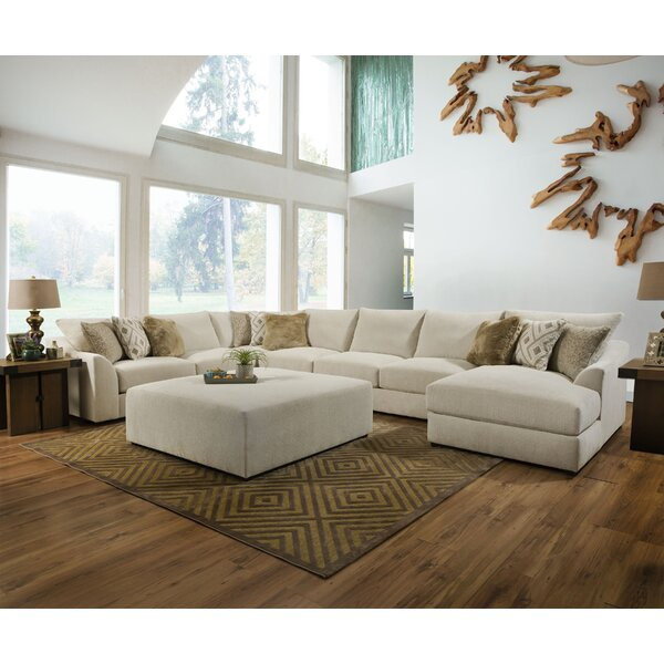 Ipswich Modular Sectional with Ottoman by Everly Quinn