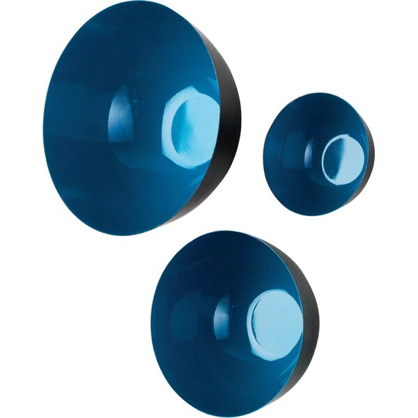 3 Piece Flying Bowls Wall Décor Set by Global Views