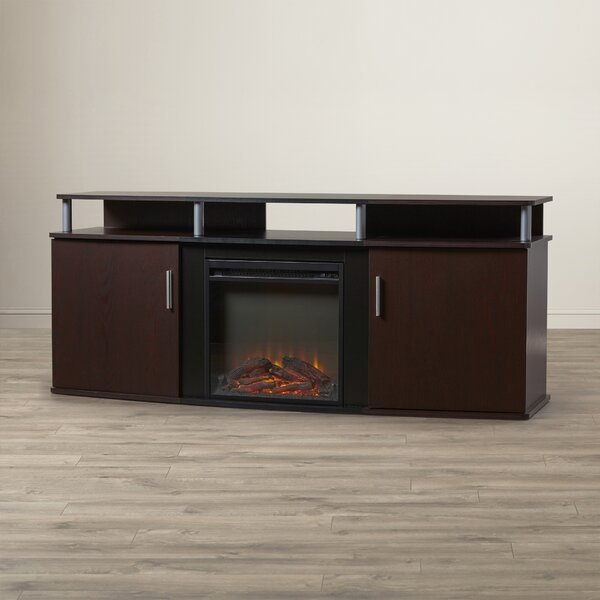 Elian 63 TV Stand with Fireplace by Wade Logan