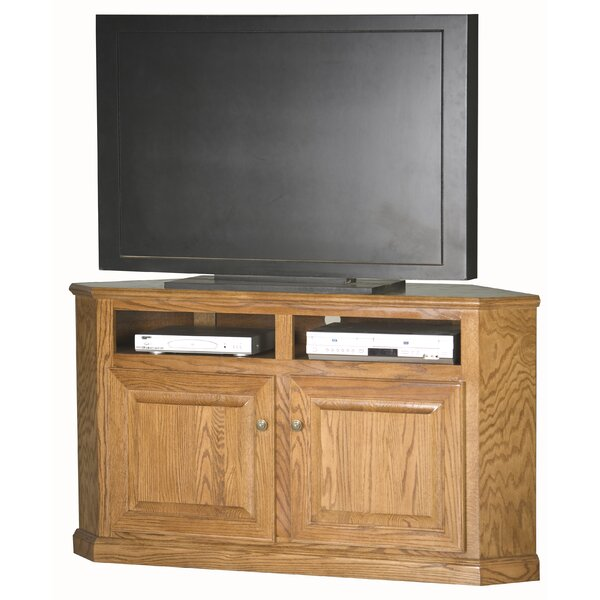 Lapierre Solid Wood Corner unit TV Stand for TVs up to 65