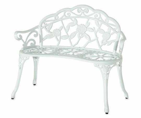 Melitta Metal Garden Bench by Ophelia & Co.