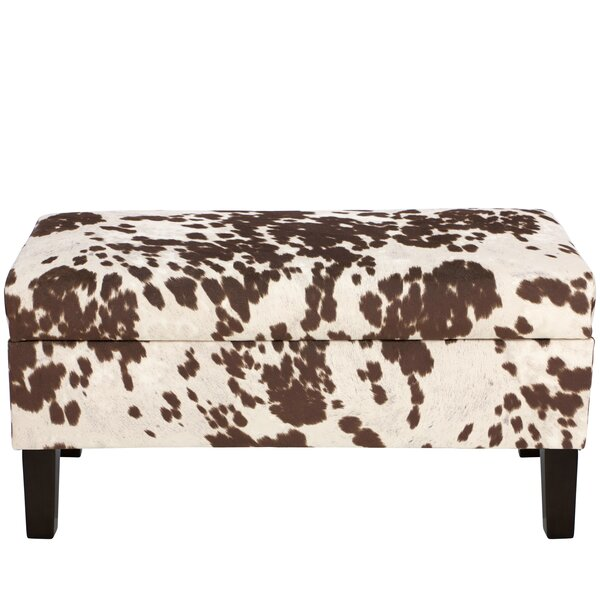 Alifan Polyester Upholstered Storage Bench by Trent Austin Design