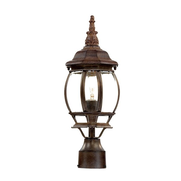 Reva Outdoor 1-Light Lantern Head by Fleur De Lis Living