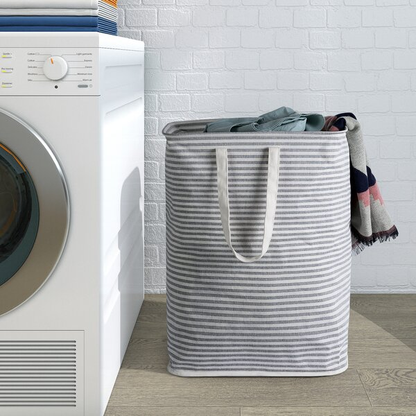 Water-Resistant Laundry Hamper by Highland Dunes