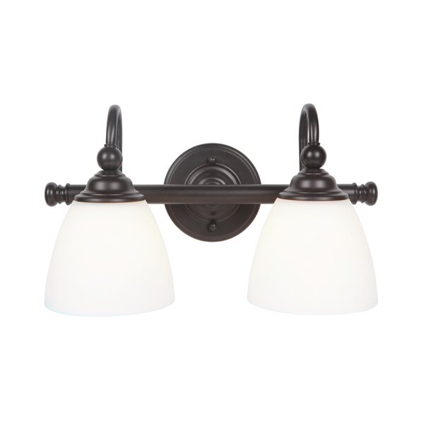 Alvan 2-Light Vanity Light by Winston Porter