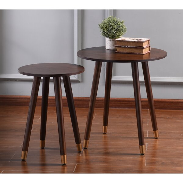 Aughalish 2 Piece End Table Set by Ivy Bronx Ivy Bronx
