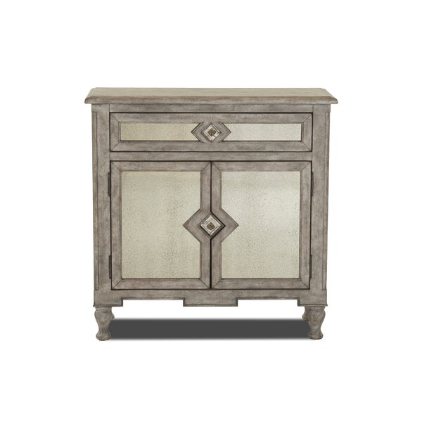 Kaitlynn Bee Inspired 2 Door Accent Cabinet by Ophelia & Co.