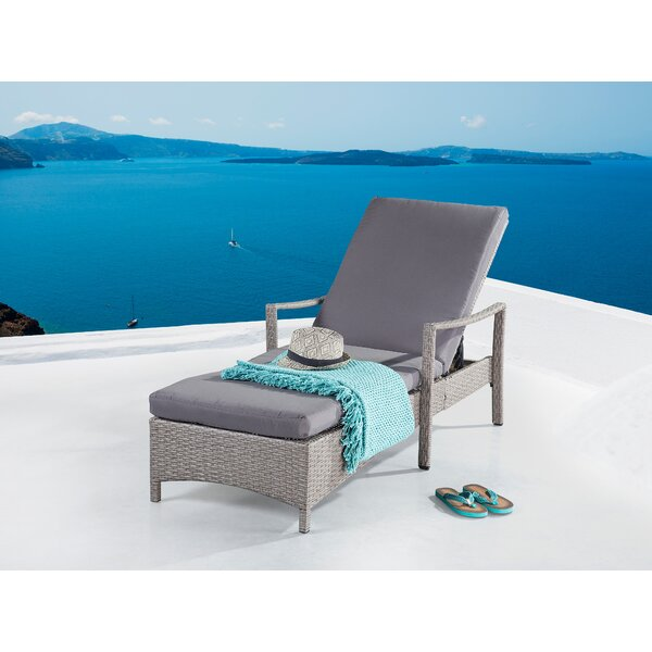 Hawking Patio Chair with Cushion by Rosecliff Heights
