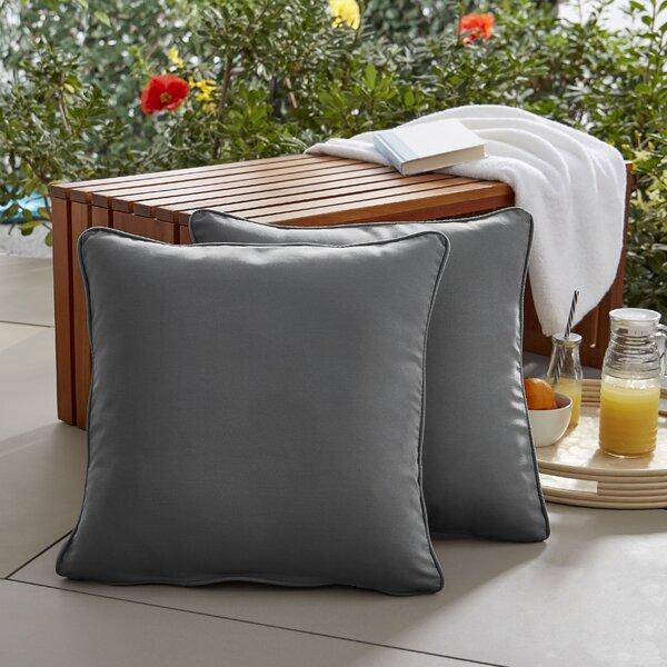 Mexborough Indoor/Outdoor Throw Pillow (Set of 2)