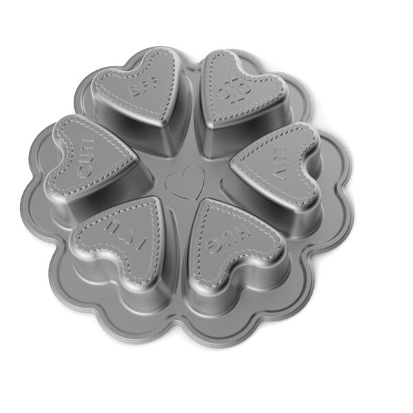 Conversation Heart Baking Pan by Nordic Ware