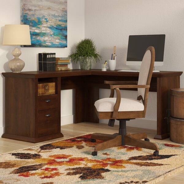 Ferrell L-Shape Corner Desk by Three Posts