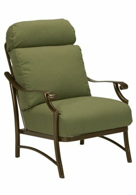 Montreux II Patio Chair with Cushions by Tropitone