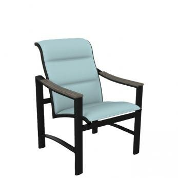 Brazo Padded Sling Patio Dining Chair by Tropitone
