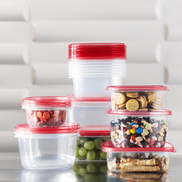 Wayfair Basics Plastic 17 Container Food Storage Set by Wayfair Basics™