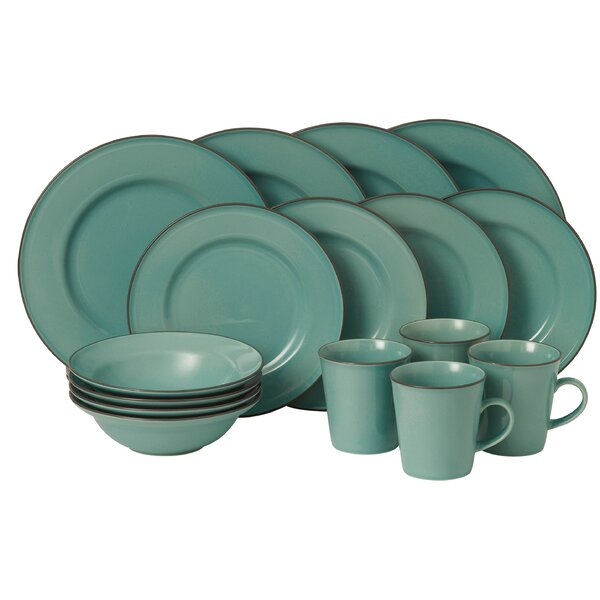 Union Street 16 Piece Dinnerware Set, Service for 4 by Gordon Ramsay by Royal Doulton
