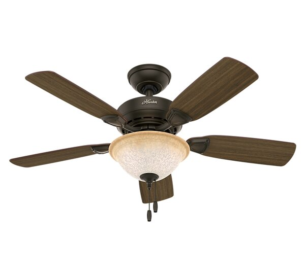 44 Auberville 5-Blade Ceiling Fan by Hunter Fan