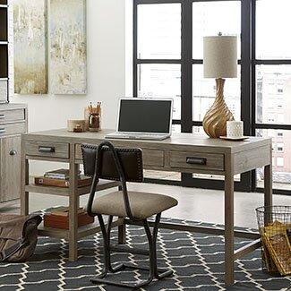 Winooski 4-Piece Standard Desk Office Suite by Union Rustic