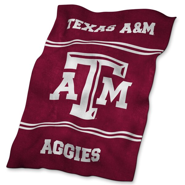 TX A&M Ultra Soft Blanket by Logo Brands