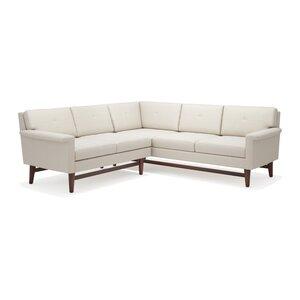 Diggity 113 x 91 Corner Sectional Sofa by TrueModern
