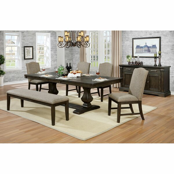 Steinbeck 6 Piece Extendable Dining Set by Canora Grey