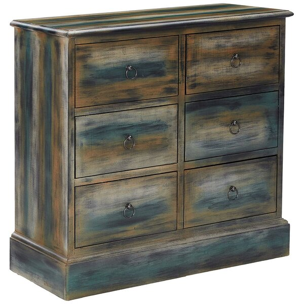 Catt Spacious 6 Drawer Accent Chest by August Grove August Grove