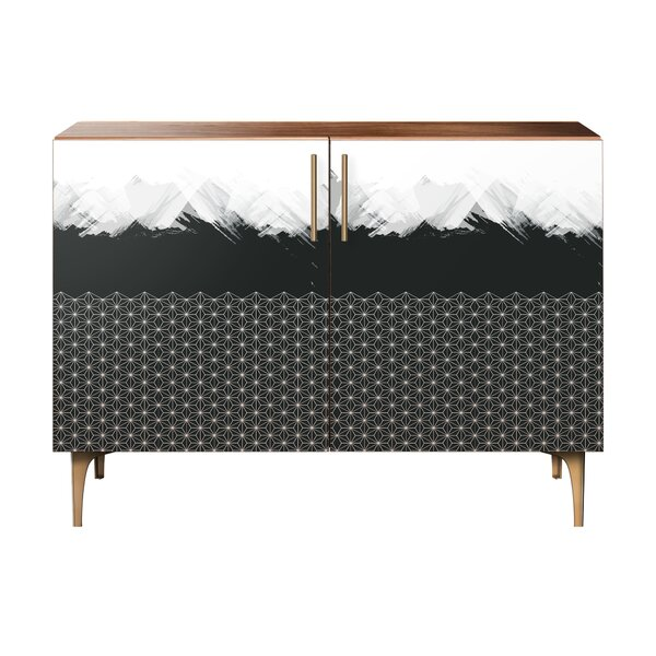 Deloera 2 Door Accent Cabinet by Wrought Studio Wrought Studio