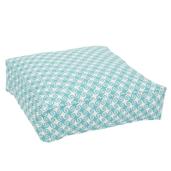 Estelle Corded Edge Indoor/Outdoor Floor Pillow by Bayou Breeze
