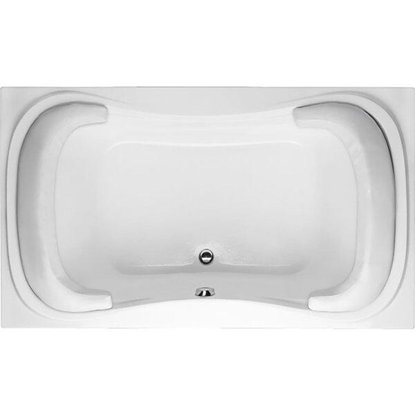 Designer Fantasy 72 x 42 Air Tub by Hydro Systems