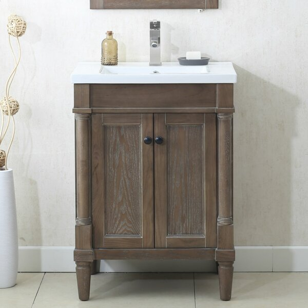 Silvana 24 Single Bathroom Vanity Set by Gracie Oa