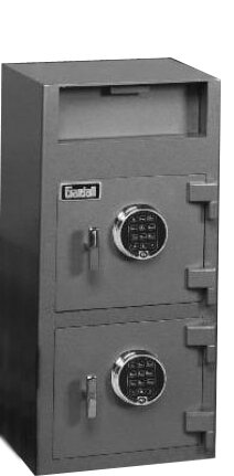 Economical Depository Safe: Electronic Lock by Gar