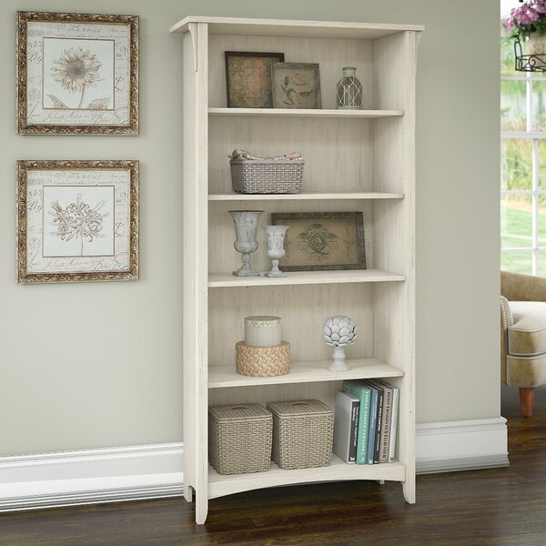 Salina Standard Bookcase by Three Posts