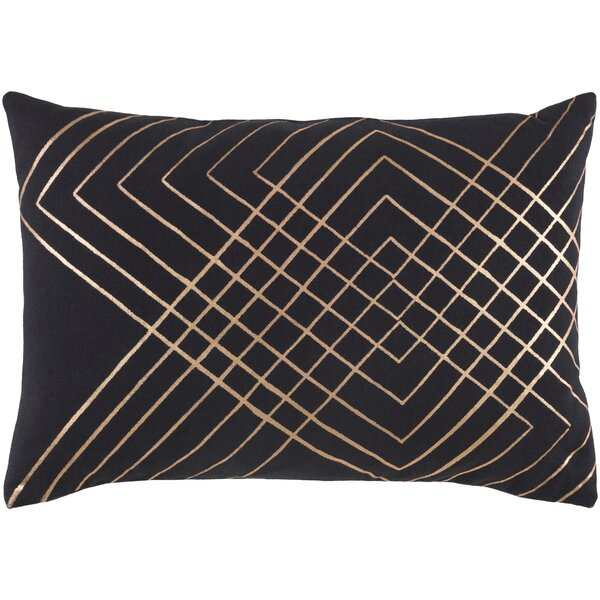 Steele Geometric Cotton Lumbar Pillow by Willa Arlo Interiors