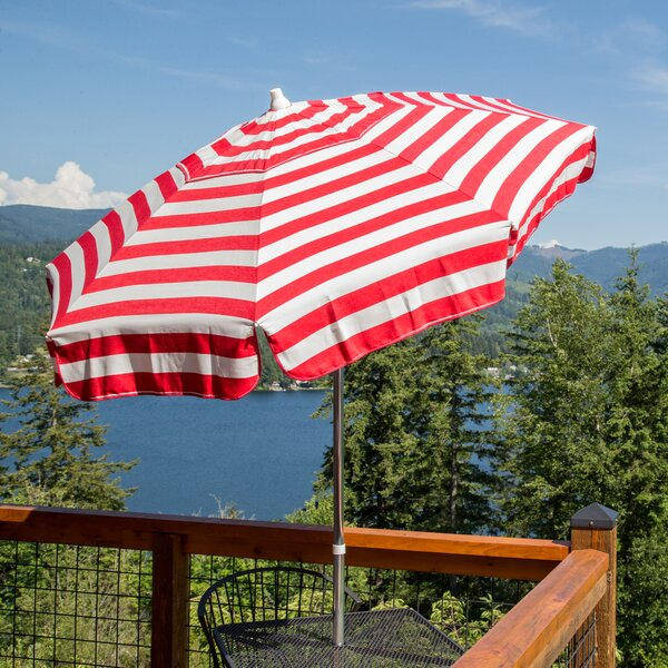 Italian 6' Market Umbrella by Parasol