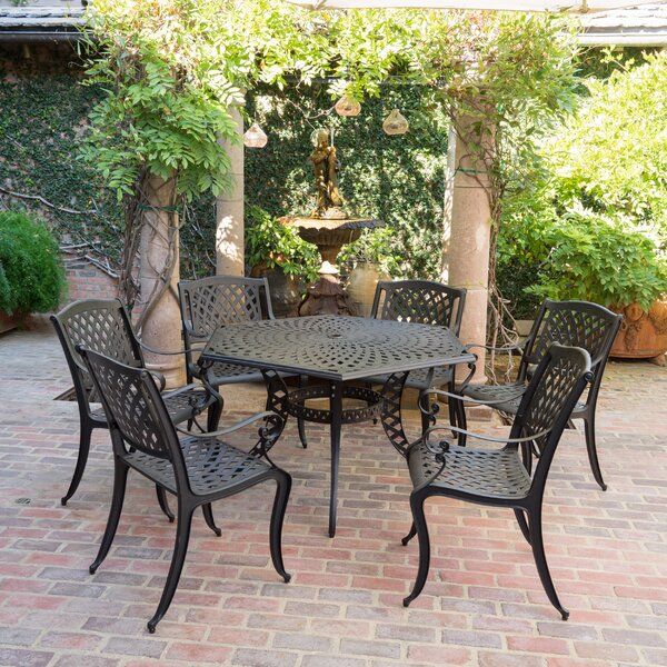 Belmont 7 Piece Dining Set by Darby Home Co