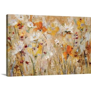 'Jostle' by Jill Martin Painting Print on Canvas by Canvas On Demand