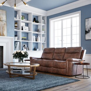 Vanna Leather Configurable Living Room Set by Red Barrel Studio®