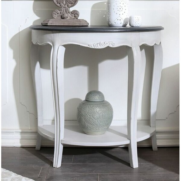 Madison Half-Moon Console Table By August Grove