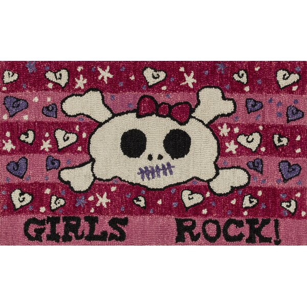 Jimerson Pink Area Rug by Zoomie Kids
