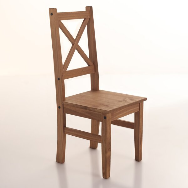 Rother Solid Wood Dining Chair (Set of 2) by Millwood Pines