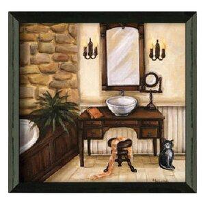 'Fireplace Escape I' Framed Painting Print by Fleur De Lis Living