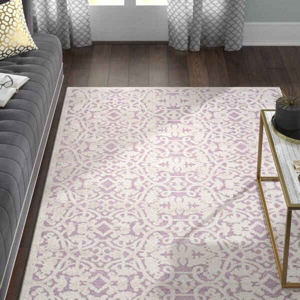 Bilboro Mauve/Violet Area Rug by Willa Arlo Interiors