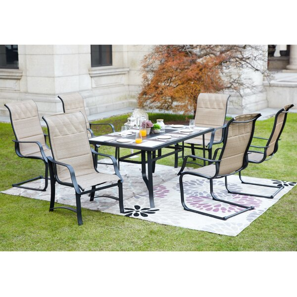 Runyon 7 Piece Dining Set by Red Barrel Studio